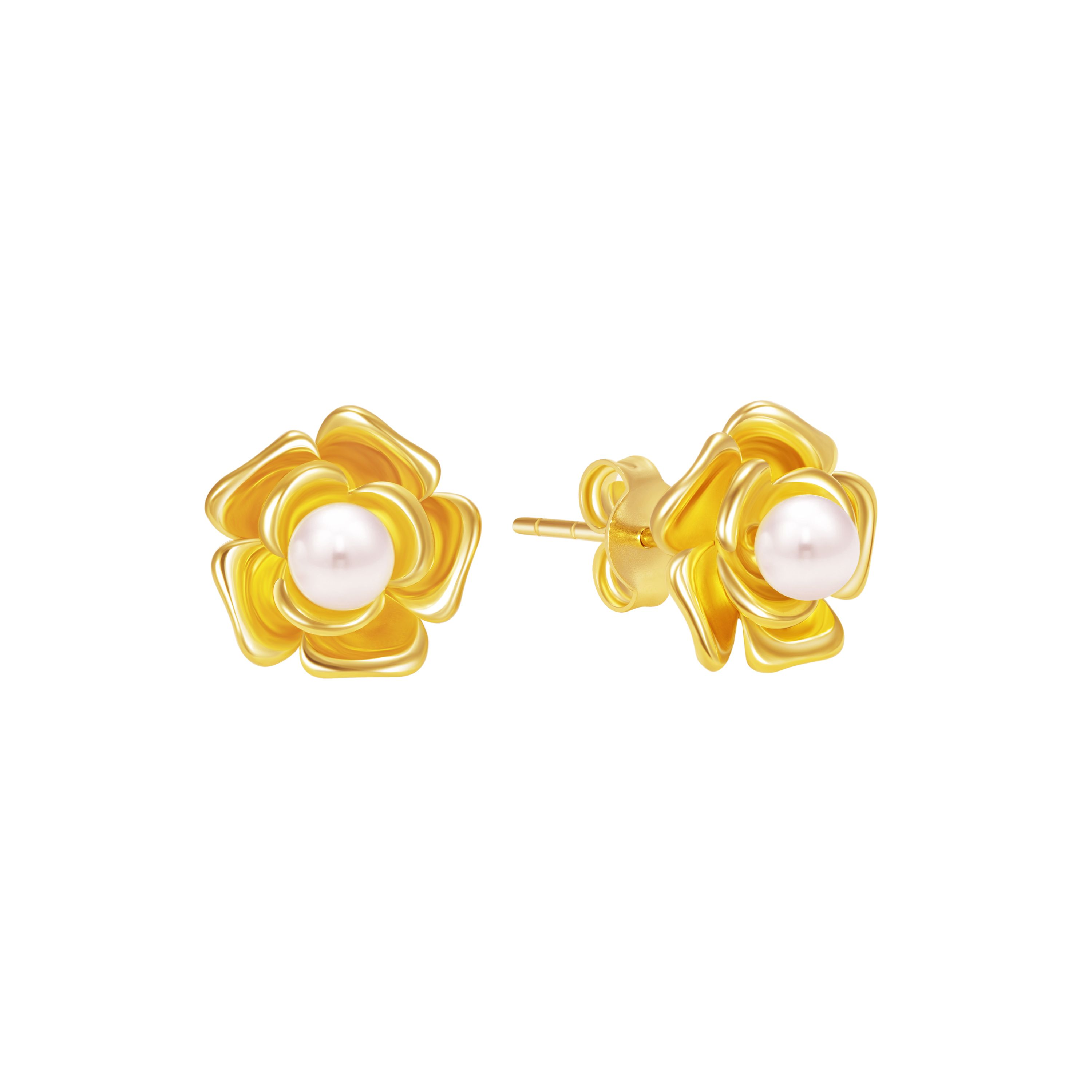 little apple gold by stud products jewellery earrings pip