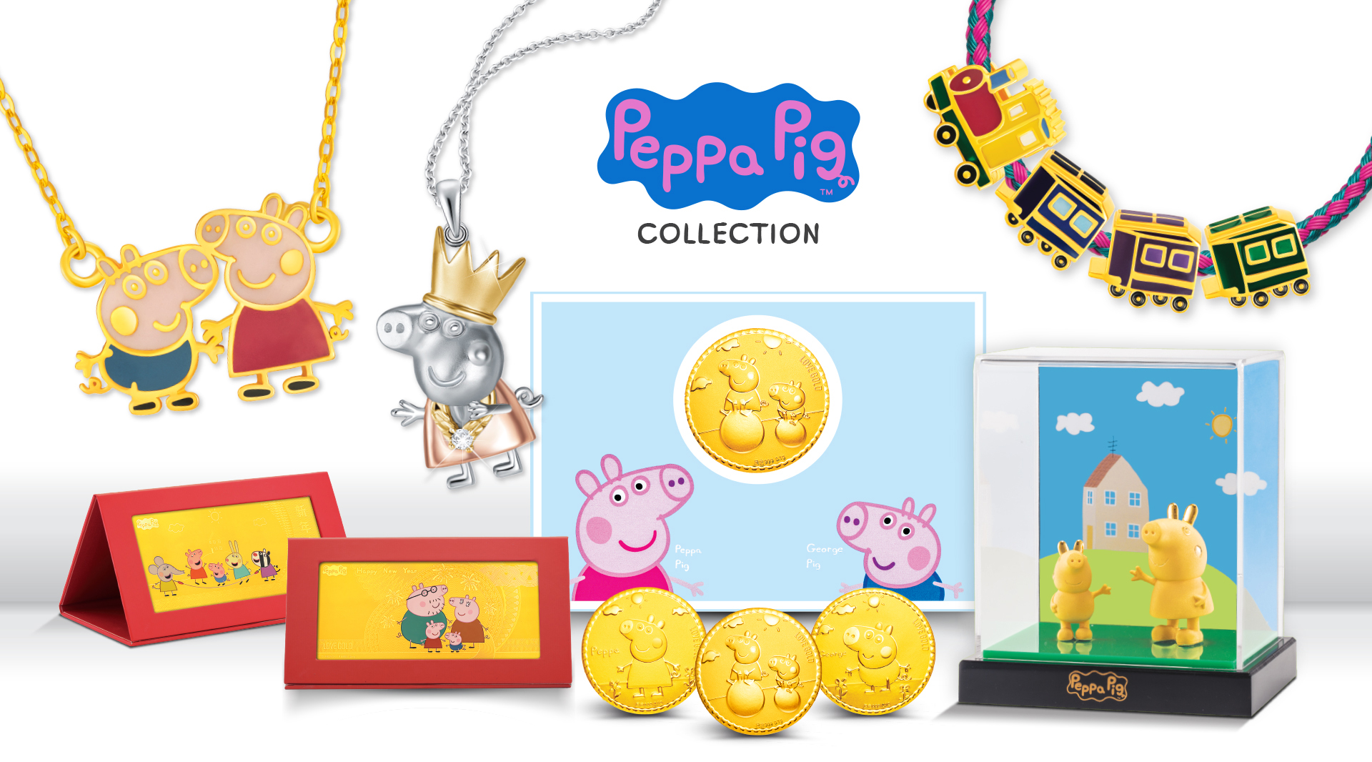 MoneyMax Launches Asia's FIRST Peppa Collection